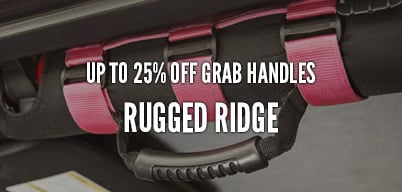 Rugged Ridge Grab Handles Up to 25% Off
