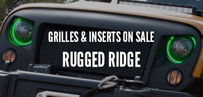 Rugged  Ridge Grilles & Inserts On Sale