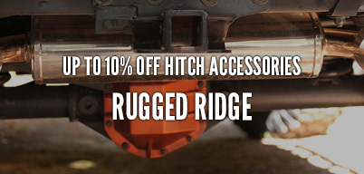 Rugged Ridge Hitch Accessories Up to 10% Off