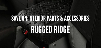 Rugged Ridge Save On Interior Parts & Accessories