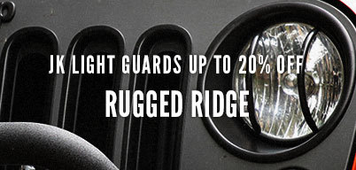 Rugged Ridge Light Guards Up to 20% Off