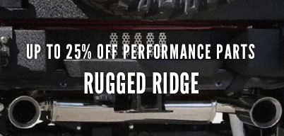 Rugged Ridge Performance Parts Up to 20% Off