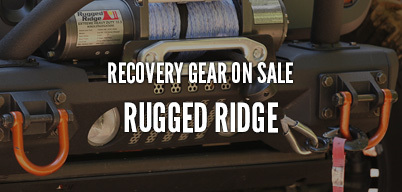 Rugged Ridge Recovery Gear On Sale