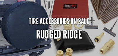 Rugged Ridge Tire Accessories On Sale
