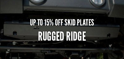 Rugged Ridge Skid Plates Up to 15% Off