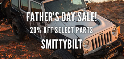 Smittybilt Father's Day Sale 20% Off Select Parts