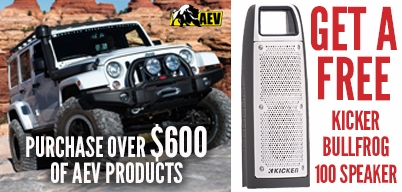 AEV Buy Over $600 Worth Get Free Bullfrog 100