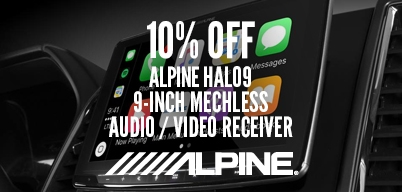 Alpine HAL09 Audio and Video Receiver 10% Off