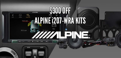 Alpine i207-WRA Kits $300 Off