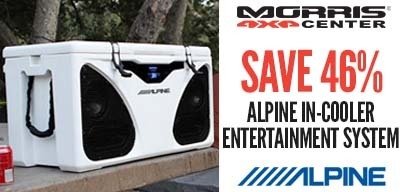 Alpine In-Cooler Entertainment System - 46% OFF