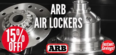 ARB Lockers 15% Off