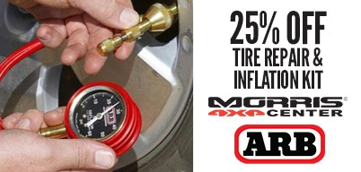 ARB Tire Repair & Inflation Kit 25% Off