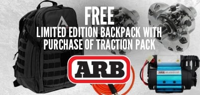 ARB Traction Packs Get a Free Backpack