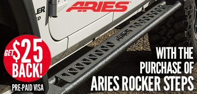 Aries Rocker Steps $25 Mail-In Rebate