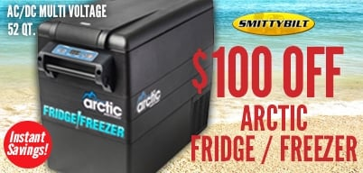 Smittybilt - SALE Artic Freezer $100 Off!