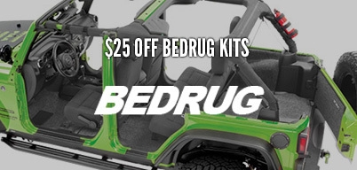 Bedrug Front & Rear Kits $25 Mail-In Rebate