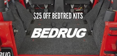 BedTred Front & Rear Kits $25 Mail-In Rebate