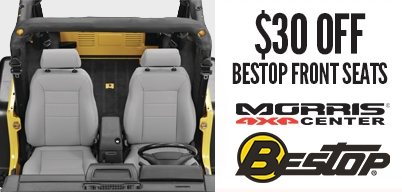Bestop Front Seats $30 Off