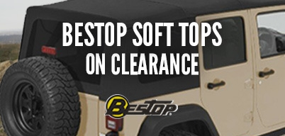 Bestop Soft Tops Clearance