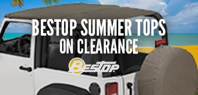 Bestop Summer Tops on Clearance