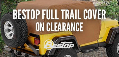 Bestop Trail Cover on Clearance