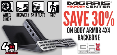 Body Armor - Save 30% on Body Armor Backbone!
