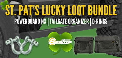 Bestop St. Pat's Lucky Loot Bundle