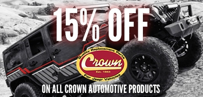 Crown 15% Off Sitewide