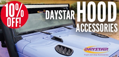 Daystar Hood Accessories 10% Off