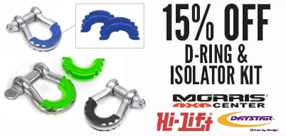 Daystar D-Ring & Isolator Kits Special Pricing