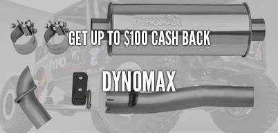 Dynomax Up to $100 Cash Back