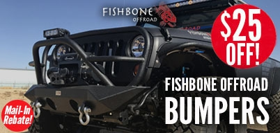 Fishbone Bumpers $25 Mail-In Rebate