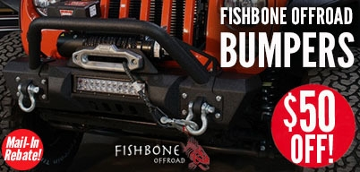 Fishbone Bumpers $50 Mail-In Rebate