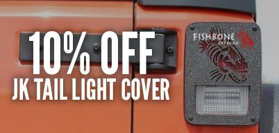 Fishbone Offroad JK Tail Light Covers 10% Off