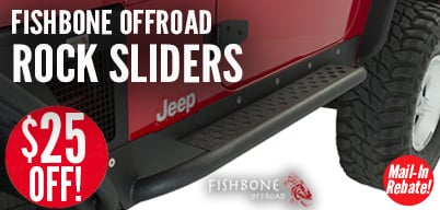 Fishbone Rock Sliders $25 Mail-In Rebate