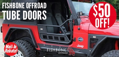 Fishbone Tube Doors Up to $50 Mail-In Rebate