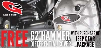 Free G2 Hammer Differential Covers