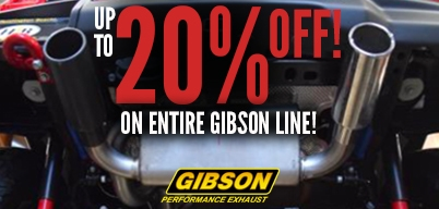 Gibson Entire Line Up to 20% Off