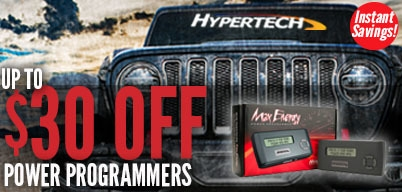 Hypertech Sale - Up to $30 Back