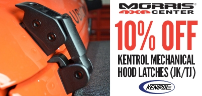Kentrol - 10% Off Hood Latches (JK/TJ)