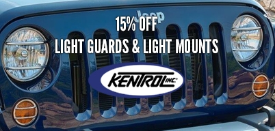 Kentrol 15% Light Guards & Light Mounts