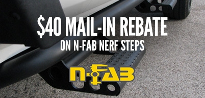 N-Fab Nerf Steps $40 Mail-In Rebate
