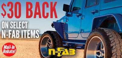 N-Fab Steps $30 Mail-In Rebate