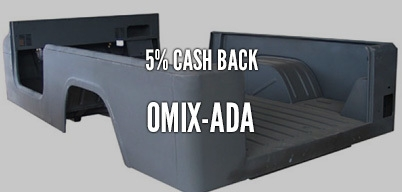 Omix-ADA 5% Year Long Rebate
