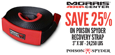 Save 25% On Poison Spyder Recovery Tools