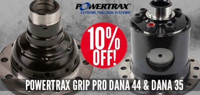 Powertrax Grip Pros 10% Off