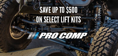 Pro Comp Lift Kits Save Up to $500