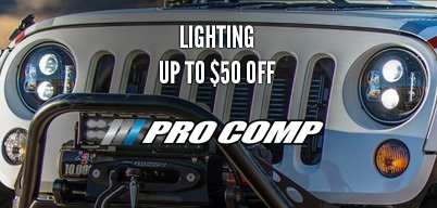 Pro Comp Lighting Up to $50 Off