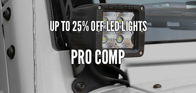 Pro Comp Lights Up to 25% Off