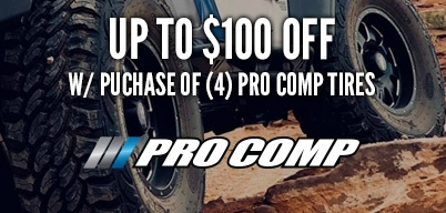 Pro Comp Tires Save Up to $100